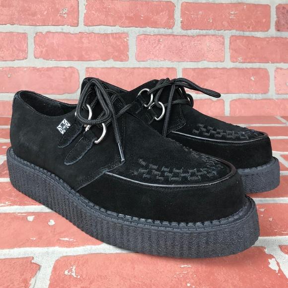 T.U.K Shoes   Unisex Tuk Black Suede